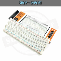 Plaque d'essais / prototype / Breadboard 830 points Arduino