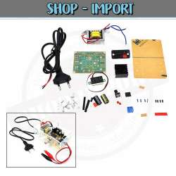 Alimentation ajustable LM317 1.25V-12V **