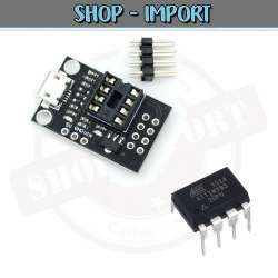 Carte programmation Mini ATTINY85 + Attiny85-20Pu